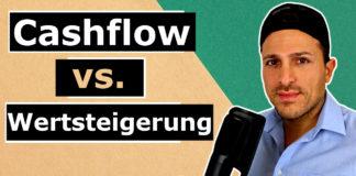 Immobilien Investment 1×1 - Cashflow vs. Wertsteigerung